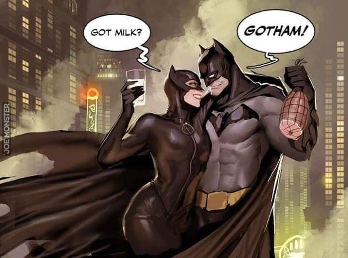 komiksy porno catwoman