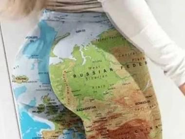 Jak widać, Polska jest w ciasnej d*pie
