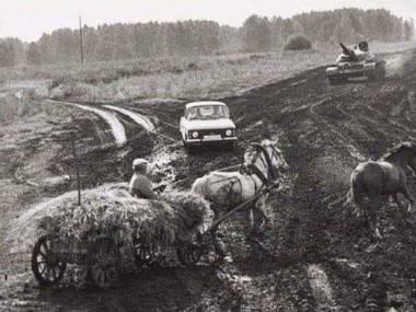 To wygląda jak zdjęcie z egzaminu na prawo jazdy... tylko w Rosji