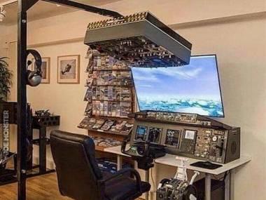 Stanowisko do nauki pilotażu