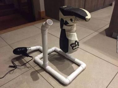 Urządzenie do suszenia wilgotnych butów