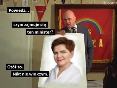 Tajemnicza pani minister