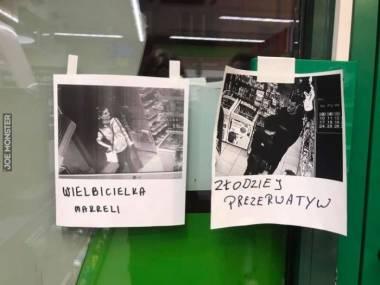 Galeria zasłużonych ze sklepu w Krakowie