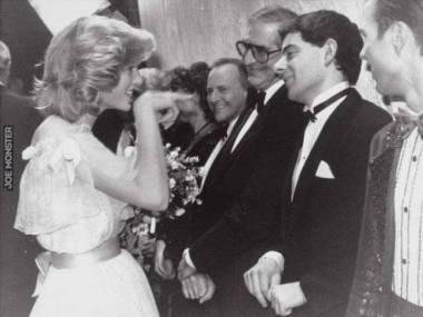 Księżna Diana spotyka Jasia Fasolę