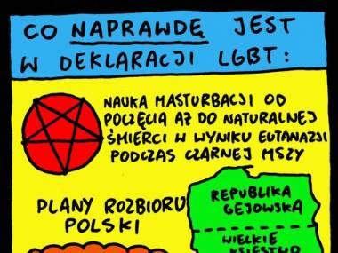 Co jest w deklaracji LGBT