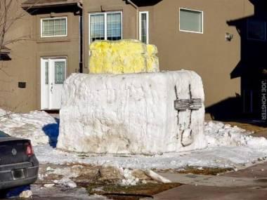 Śnieżny toster