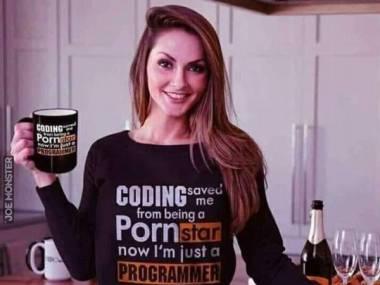 Kodowanie ocaliło mnie przed byciem gwiazdą porno, teraz jestem programistką