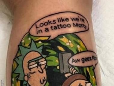 Wygląda na to, że jesteśmy w tatuażu, Morty