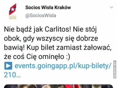 Wisła Kraków rozgromiła Legię Warszawa 4:0 i robi sobie jaja z ich zawodnika