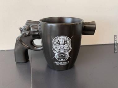 Kubek na zabójczo mocną kawę