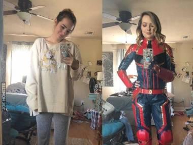 Niezła Kapitan Marvel