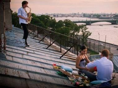 Romantyczna kolacja z muzyką