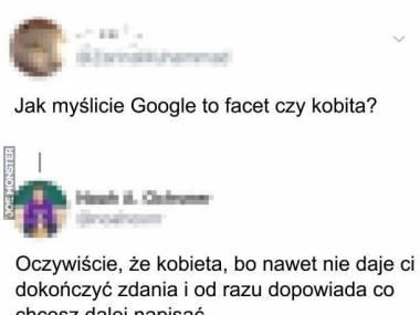 Płeć Google