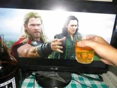 Masz stary, napij się