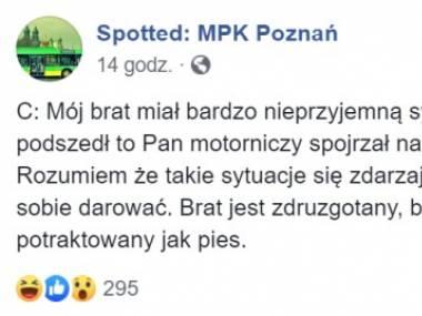 Trauma w poznańskim MPK