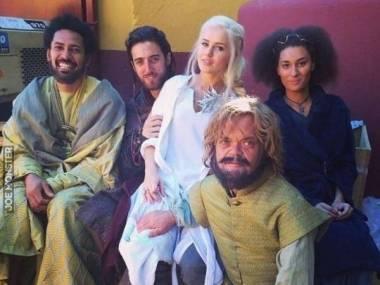 Kaskaderzy aktorów z Gry o tron