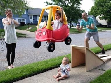 Wesołe rodzinne zabawy
