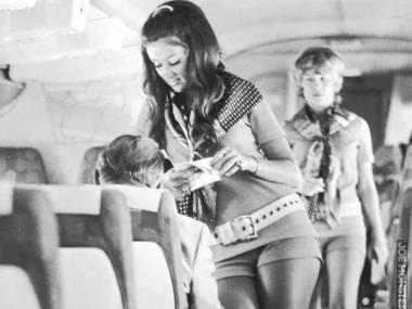 Stewardessa linii Southwest w 1972 r.