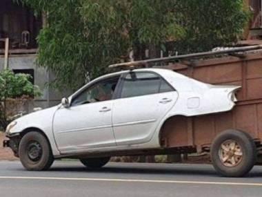 Samochód z surowców wtórnych