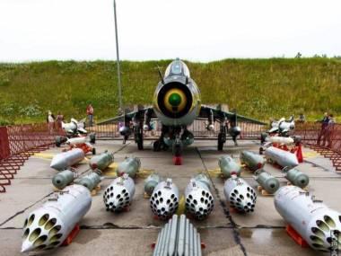 Możliwe zestawy uzbrojenia dla samolotu SU-22