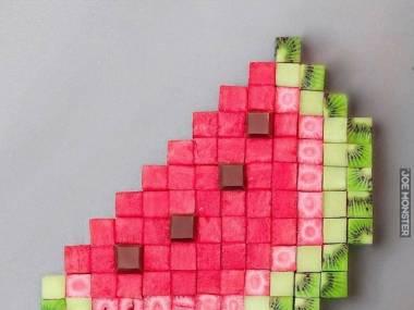 Pikselowy arbuz