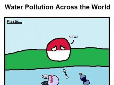Zanieczyszczenia wody w różnych krajach