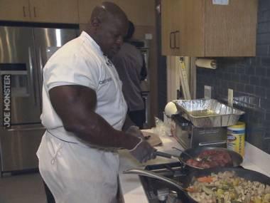 Andre Rush - szef kuchni w Białym Domu. Podobno żaden prezydent jeszcze nie narzekał na jedzenie