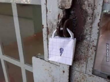Na papierze jest zamknięte