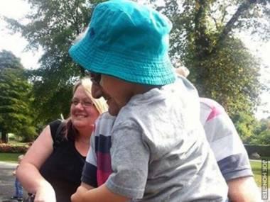 Benjamin Button spotkany w parku
