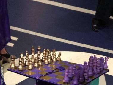 Absolwent i mistrz szachowy w jednym