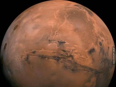 Mars z orbity