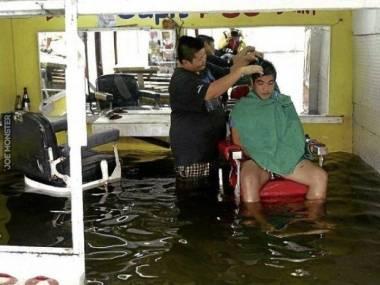 Powódź nie powódź, ale trzeba dobrze wyglądać