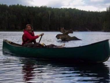 Zwyczajny spływ w Kanadzie