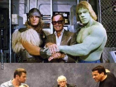 Thor, Stan Lee i Hulk