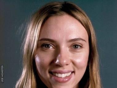 Scarlett Johansson bez makijażu