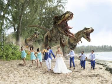 Wesele w Jurassic Parku to nie był dobry pomysł