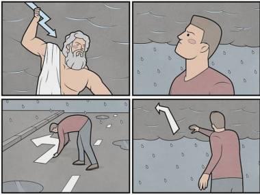 Komiks o burzy