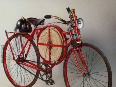 Rower strażacki, ok. 1905 roku