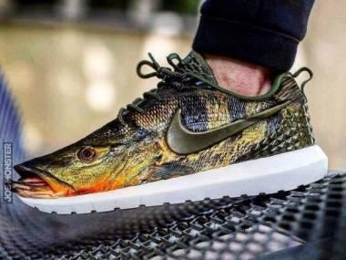 Nike usłyszało o paście o wędkarzu