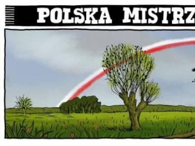 Tak powinna wyglądać polska tęcza
