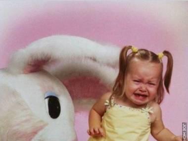 No chodź, przytul króliczka