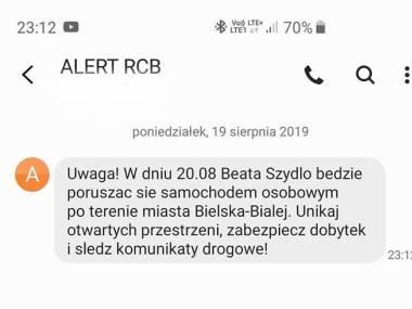 Alert dla Bielsko-Białej