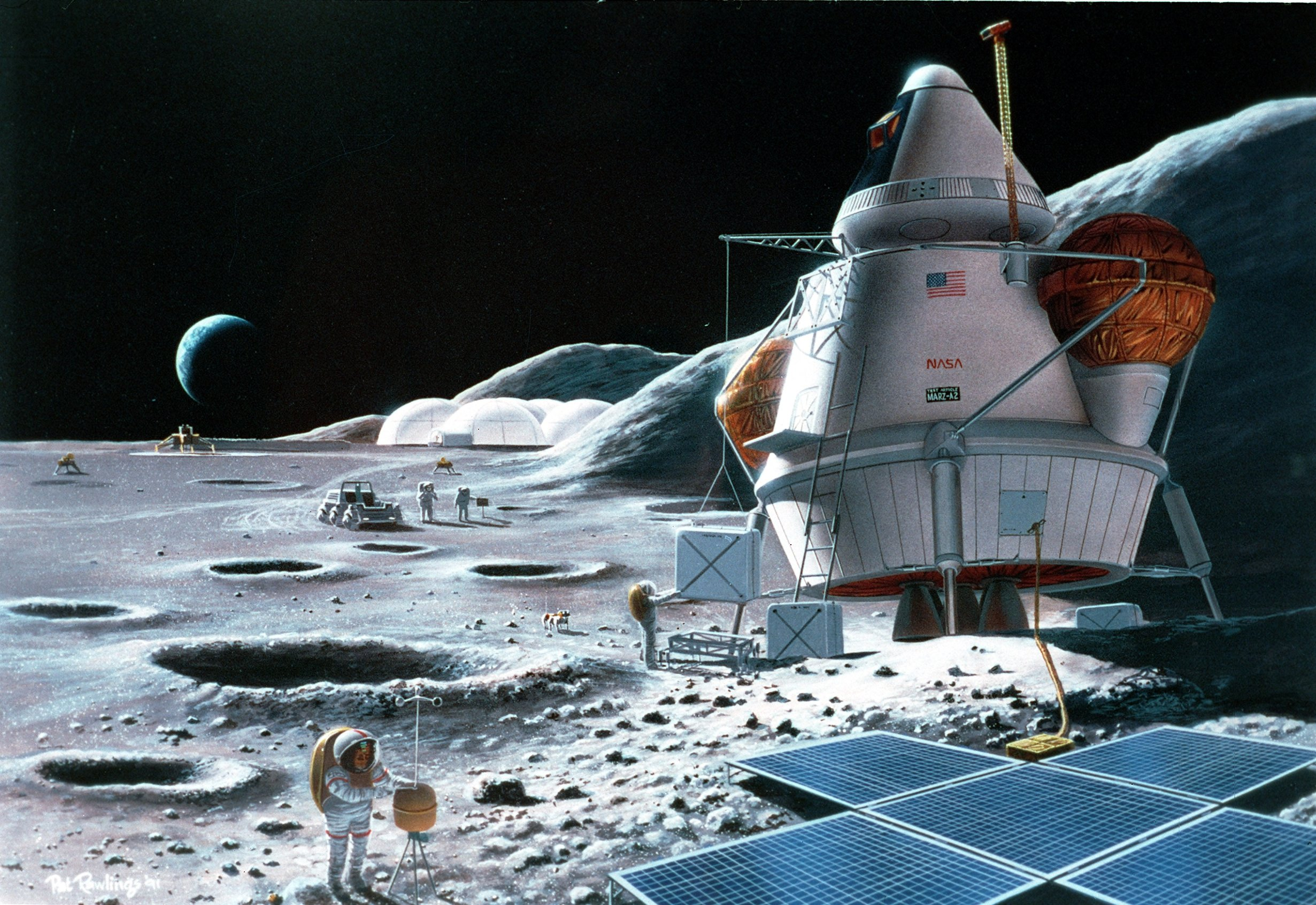 china space program to the moon - HD 2461×1693